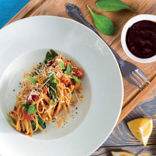 Spaghetti mediterano