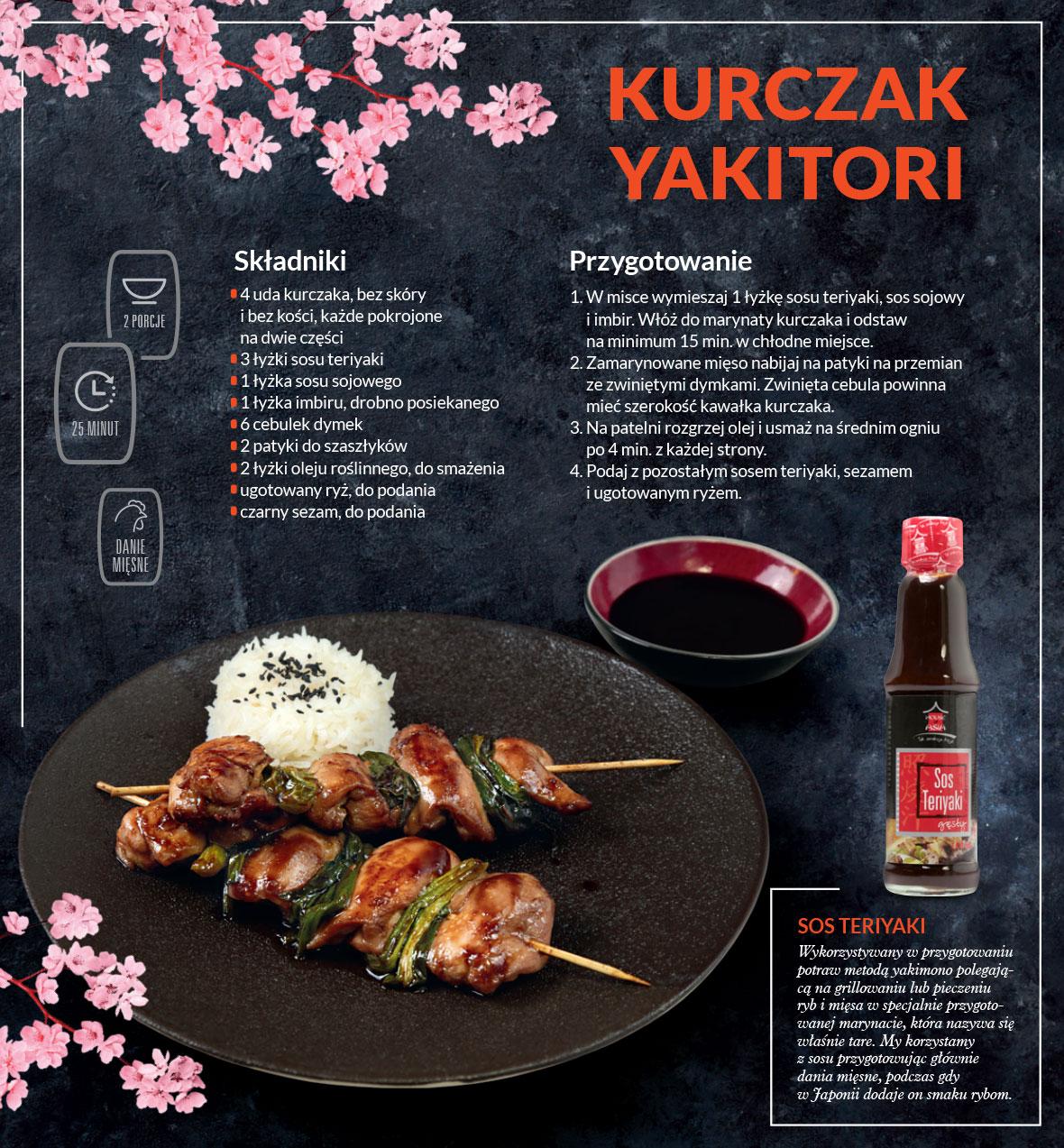 Kurczak Yakitori